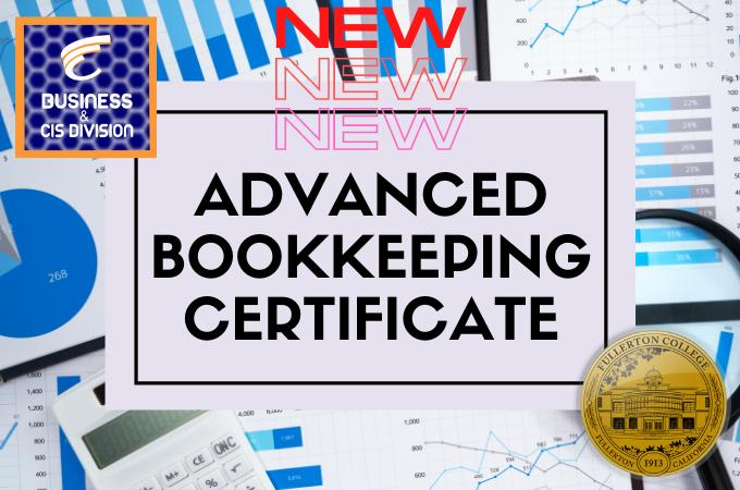 New Program: Advanced Bookkeeping Certificate