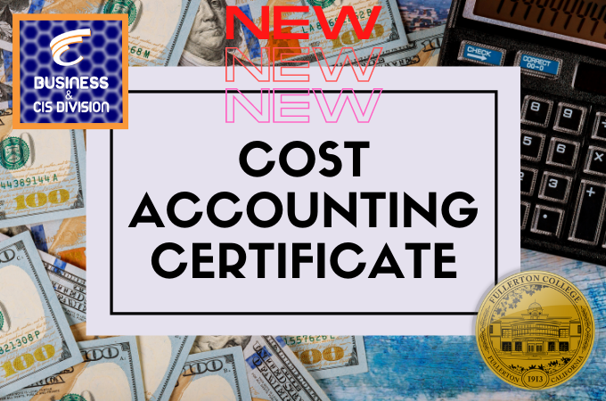 New Program: Cost Accounting Certificate